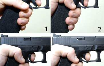 trigger pull and reset