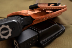 tuckable belt clip detail